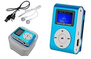Reproductor Mp3 Mini Clip con RADIO FM Lcd Cable Usb Auriculares SmFRUIT 2173fmaz