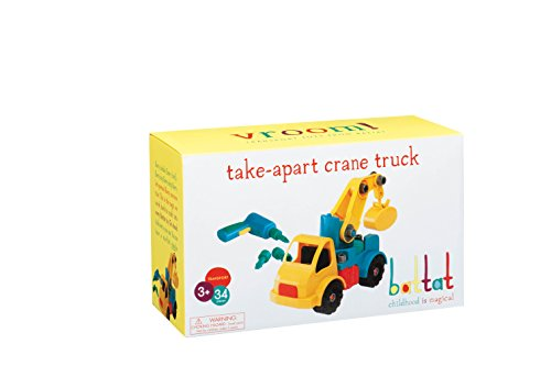 Battat Take-A-Part Vehicle Crane (Old Model)