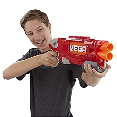 NERF N-Strike Mega DoubleBreach Blaster: Toys & Games