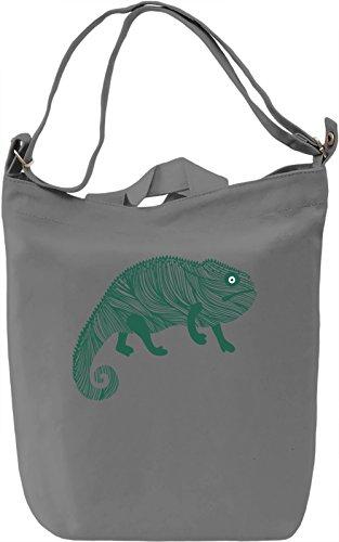 Chameleon Borsa Giornaliera Canvas Canvas Day Bag| 100% Premium Cotton Canvas| DTG Printing|