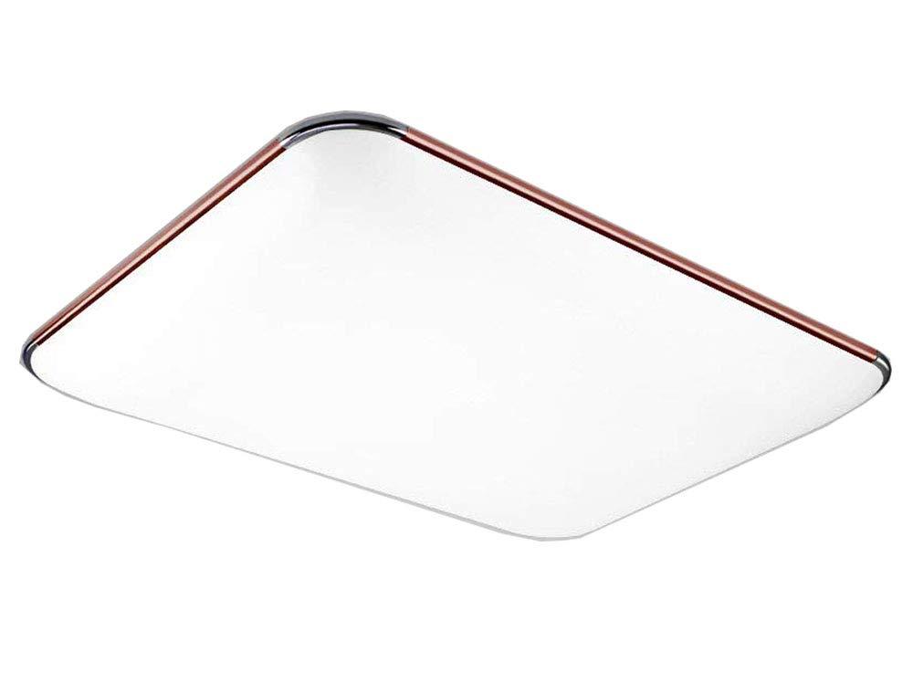 Natsen® LED Deckenleuchte Modern Deckenlampe 27W Warmweiß LED Lampe für 12-18m² Größe (650mm430mm) I503H