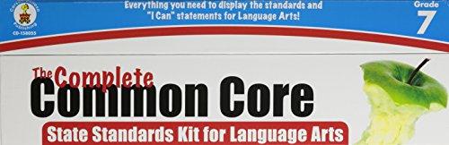 The Complete Common Core State Standards Kit for Language Arts, Grade (Language Development Kit)