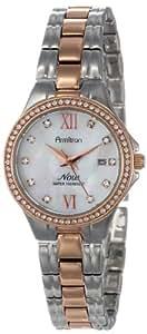 Armitron Women's 75/5122MPTR Swarovski Crystal Accented Two-Tone Bracelet Watch