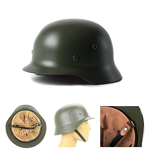 Used, Gerald DuVallSDF German Steel Helmet,WWII German Elite for sale  Delivered anywhere in USA