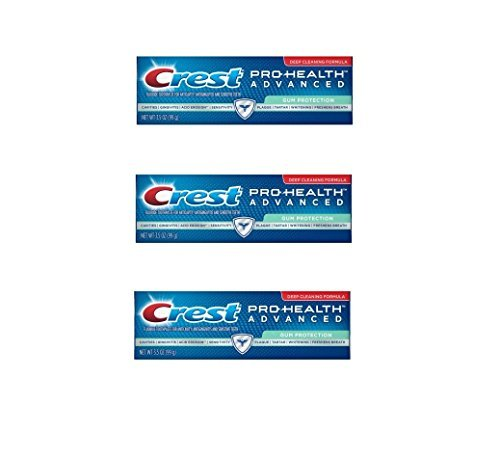 Advanced Effects - Crest Pro-Health Advanced Extra Gum Protection Toothpaste 3.5 oz (Pack of 3)