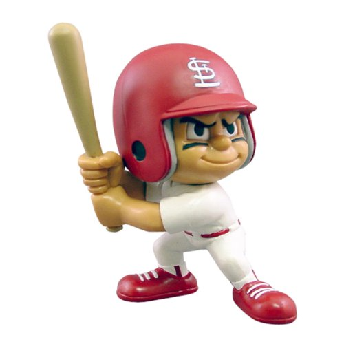 Party Animal Toys Lil' Teammates St. Louis Cardinals Batter MLB Figurines -