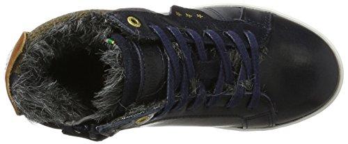 Pantofola dOro Canaverse Ragazzi Fur Mid - Zapatilla Alta Niños Azul (Dress Blues)
