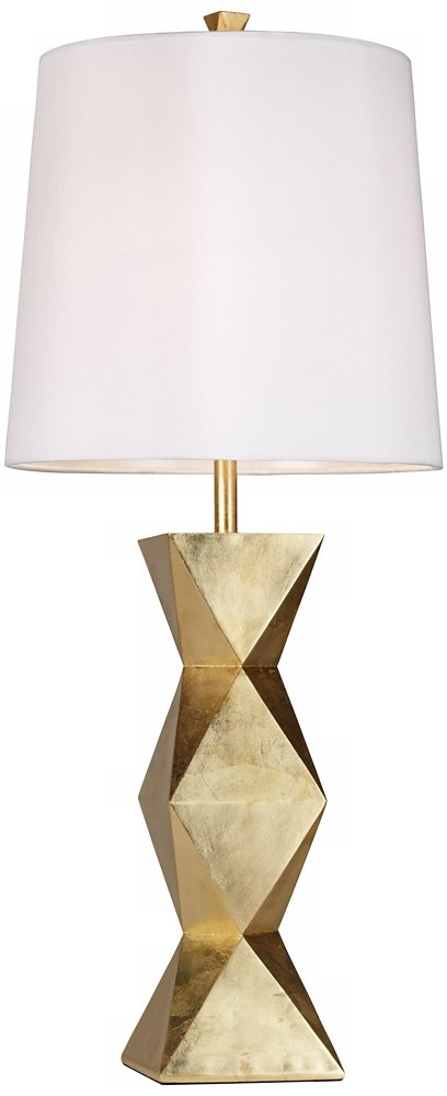 - Pacific Coast Lighting Ripley Table Lamp In Gold Leaf - - Amazon.com