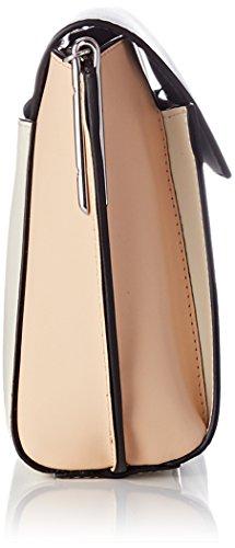 Le Tanneur Damen Lily Tyi1200 Umhängetasche, 7x18x29 centimeters Mehrfarbig (Cocon-sable-nopal)