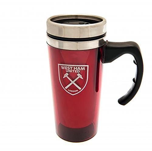 (Aluminium Travel Mug - West Ham United F.C by Bourne Gifts)