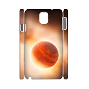 3D Vinceryshop a Gas Giant Planet Case for Samsung Galaxy Note 3 Girl, Samsung Galaxy Note 3 Case for Men Protective Cute for Girls with White