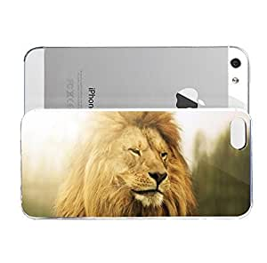 iPhone 5&5S cover case Animals Lion Zzz506
