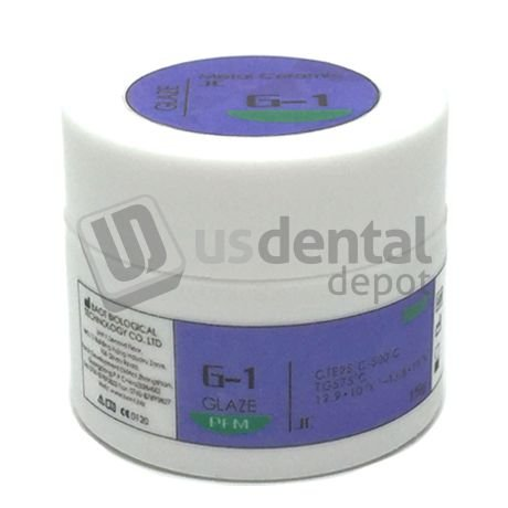BAOT - Glaze Powder 15g/Bottle Color G-1(PFM Porcelain Cderamc Powder) 124644 Us Dental Depot