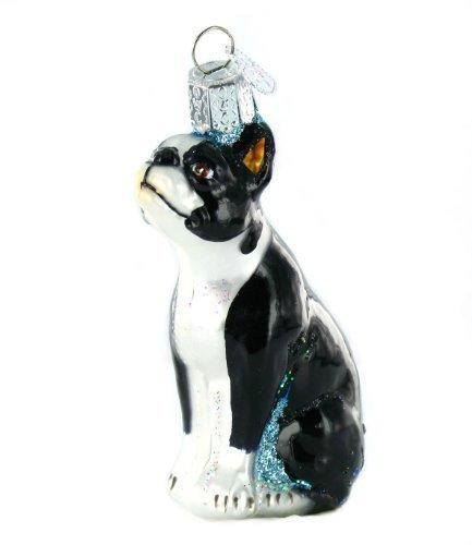 Terrier Glass Ornament - 5