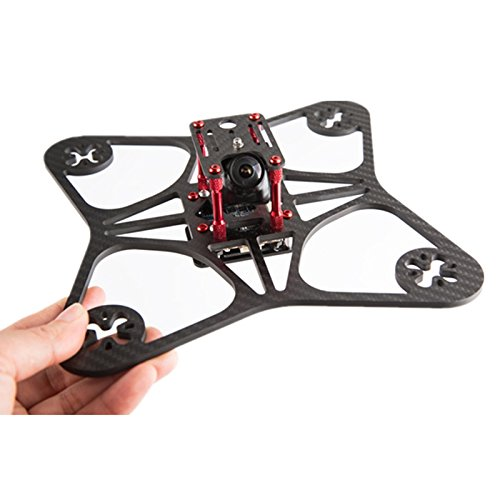 Quickbuying XS5 205mm 4mm Thichness 3K Carbon Fiber Frame Kit for FPV Racing RC Model
