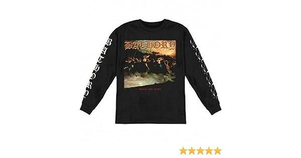 Amazon.com: Bathory - Blood Fire Death Long Sleeve T-Shirt (Small): Clothing