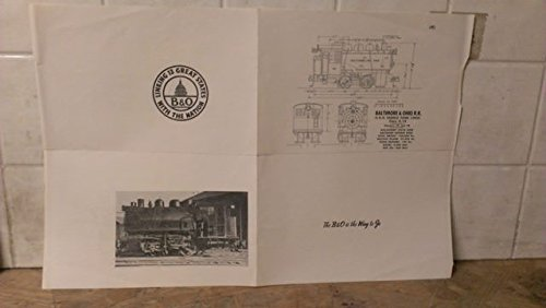 Baltimore & Ohio B&O Railroad 0-4-0 Saddle Tank Loco Spec Sheet (4)
