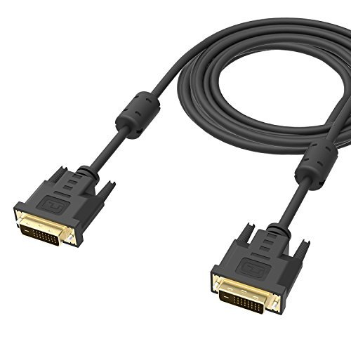 DVI Cable , ICZI DVI to DVI Monitor Cable Male to Male (10 Feet /3M ) Gold Plated Single Link (24+1 Pin) Digital Video Monitor Cable