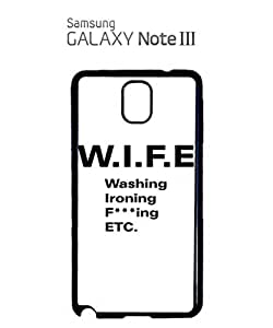 WIF*cking Funny Mobile Cell Phone Case Samsung Note 3 White