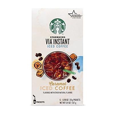 Starbucks VIA Instant Coffee, Sweetened Iced Coffee, 6 Count from Starbucks Coffee