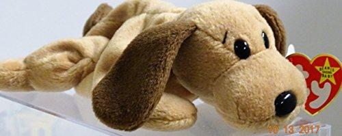 Ty Beanie Babies - Bones the Dog (Beanie Bone Dog Toy)