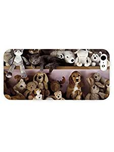 3d Full Wrap Case for iPhone 6 plus 5.5 Animal Cat And Do
