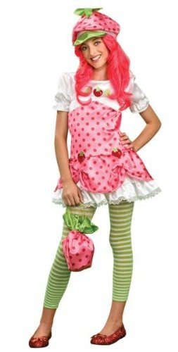 Deluxe Strawberry Shortcake Costume - Medium -
