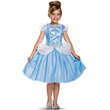 Cinderella Classic Disney Princess Cinderella Costume, Medium/7-8