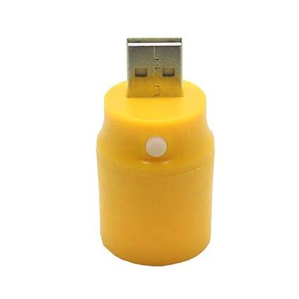 Black Plastic White Light Press Button Usb Led Lamp Torch Portable Lighting Lights & Lighting