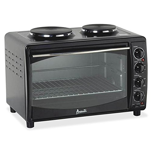 Avanti Products Avanti Mkb42b Blk Oven Convection Toaster 2Burners Mini Kitch (Avanti ProductsMKB42B )