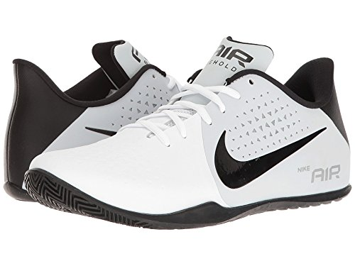 2bcebe610385 Nike Men s AIR Behold Low Wht Blk-PurePlatnum-WolfGry Basketball Shoes-6