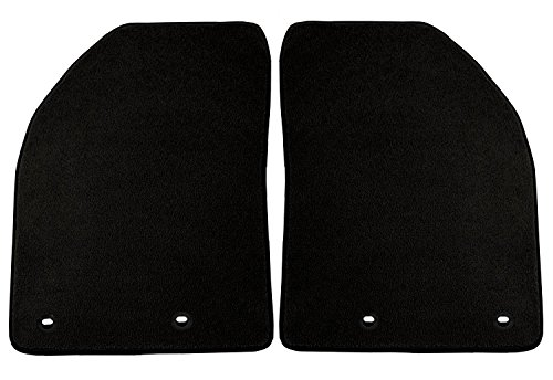 Coverking Front Custom Fit Floor Mats and Cargo Liner for Select Chevrolet Impala Models - 40 Oz Carpet (Black)