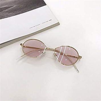 Dhenwy Gafas de Sol Moda Redondos Gafas de Vista para Hombre ...