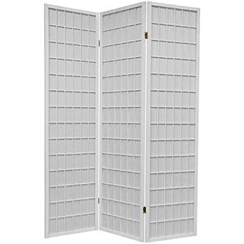 This Item 3 Panel White Wood Shoji Screen Room Divider