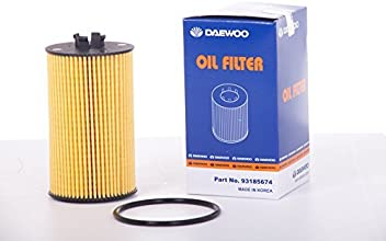 Genuine Oil Filter for Chevy Chevrolet Cruze Part:55594651, 93185674, PF2257G (pack
