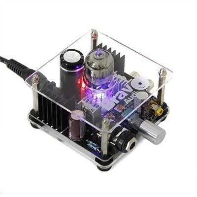 BRAVO Audio V1 Valve Class A Tube Headphone Amplifier preamp Audio amp&Russian EH 6922 Tube