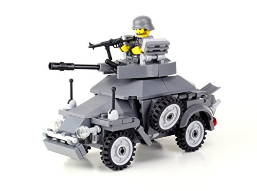 German WW2 Armored Car - Battle Brick Custom Set