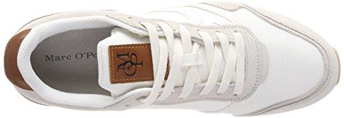 Marc O'Polo Herren Sneaker 80124363501303 Weiß (White)