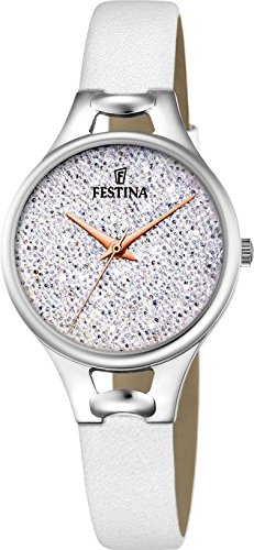 Festina Mademoiselle F20334/1 Wristwatch for women With Swarovski crystals