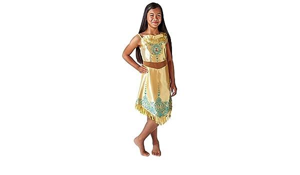 Rubies 640730L Disfraz de princesa Disney Pocahontas Gem, Niñas ...