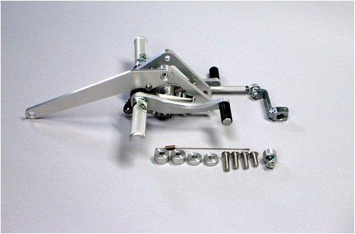 ダックスコーポレーション [COERCE] FIXED RACING STEP [SINGLE SERIOUS] [GB250 2型~5型] ステップバー別売 [品番] 0-6-BH38   B002NAL84M