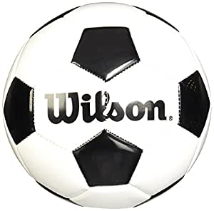 Amazoncom Wilson Traditional Soccer Ball Size 3 Sports Outdoors