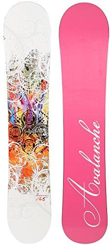 Snowboard 140cm (Avalanche Divane Snowboard Womens Sz 140cm)