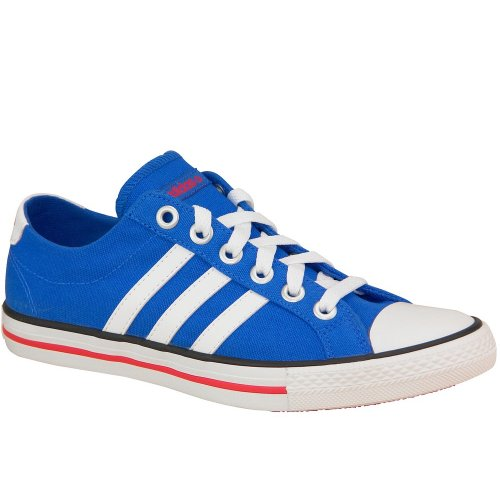 Adidas Vlneo 3 Stripes Lo K - F39344 - Color Blue - Size: 6.0 by adidas