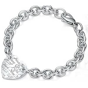 Tiffany And Co Bracelet Heart Tag Silver 102