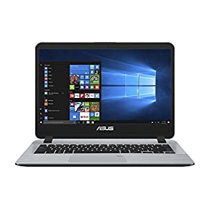 ASUS VivoBooK Intel Core i3 7th Gen 14-inch Thin and Light Laptop (4GB/256GB SSD/Windows 10/Stary Gray/1.55 Kg), X407UA-BV420T