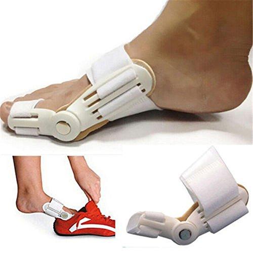 Price comparison product image Big Toe Bunion KingNew Aid Splint Straightener Corrector Adjustable Compression Pad Foot Pain Relief Hallux Valgus