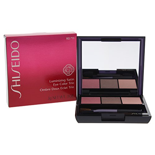 Luminizing Powder Color (Shiseido Shiseido luminizing satin eye color trio - #rd711 pink sand, 0.1oz, 0.1 Ounce)