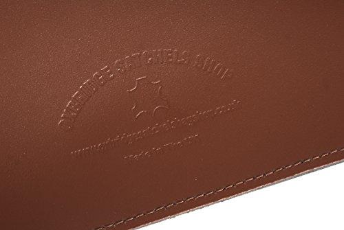 Oxbridge Satchel's, Borsa a secchiello donna marrone