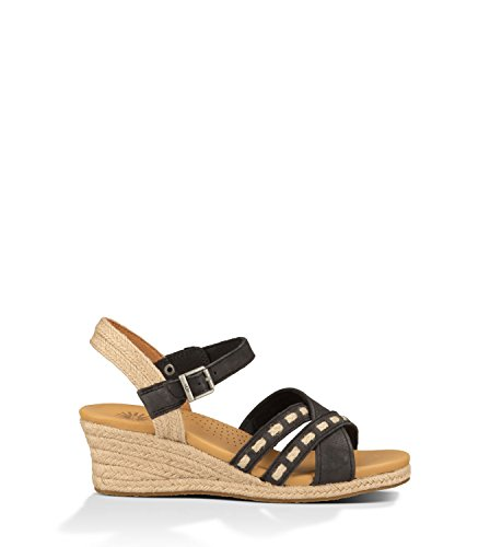 Ugg Australia Womens Mairi Sandal Black Size 8.5